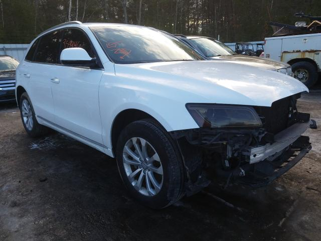 Salvage cars for sale from Copart Lyman, ME: 2016 Audi Q5 Premium