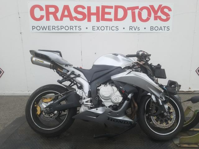 Salvage cars for sale from Copart Van Nuys, CA: 2008 Honda CBR600 RR