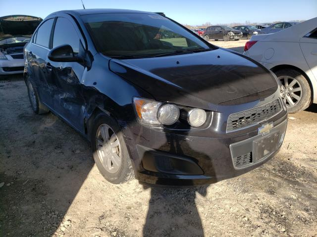 Salvage cars for sale from Copart Temple, TX: 2013 Chevrolet Sonic LT