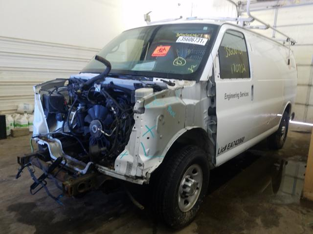 2014 CHEVROLET EXPRESS G2 - Left Front View