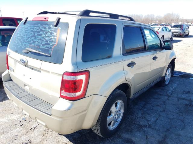 2012 FORD ESCAPE XLS - Right Rear View