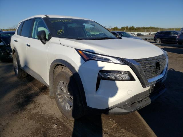 Nissan salvage cars for sale: 2021 Nissan Rogue S
