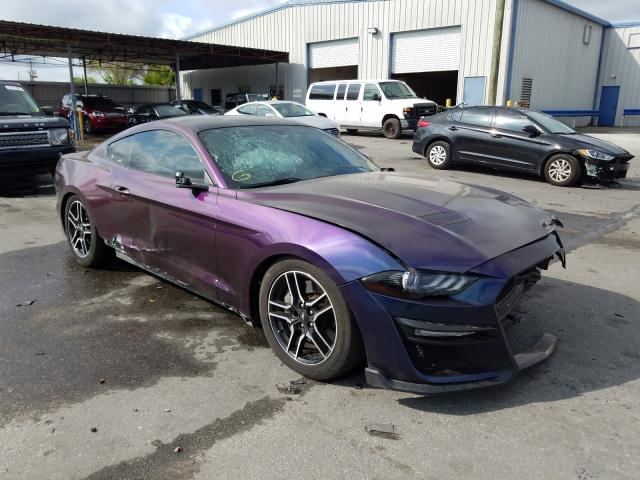 Ford Mustang GT salvage cars for sale: 2018 Ford Mustang GT