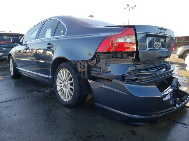 2008 VOLVO S80 3.2 - Right Front View