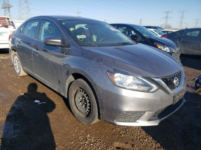Salvage cars for sale from Copart Elgin, IL: 2017 Nissan Sentra S