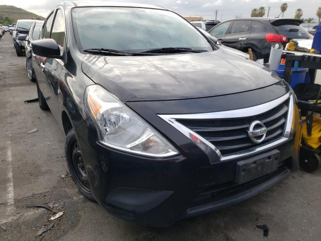 Salvage cars for sale from Copart Colton, CA: 2016 Nissan Versa S
