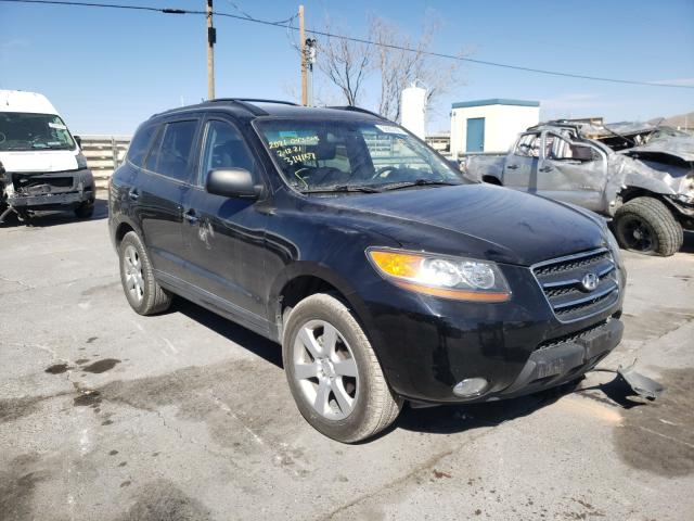 Salvage cars for sale from Copart Anthony, TX: 2009 Hyundai Santa FE S