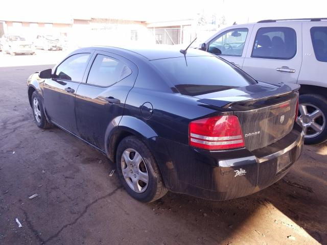 2010 DODGE AVENGER SX - Right Front View