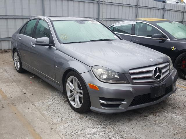 Mercedes-Benz salvage cars for sale: 2012 Mercedes-Benz C 250
