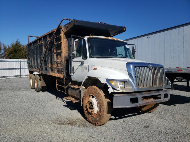 Salvage cars for sale from Copart Fredericksburg, VA: 2002 International Truck