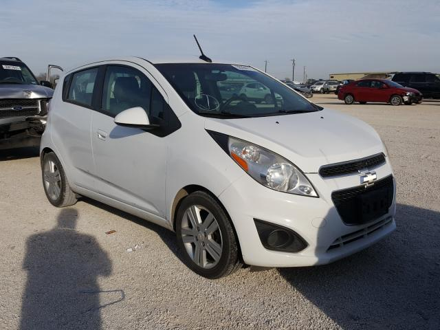 Salvage cars for sale from Copart San Antonio, TX: 2014 Chevrolet Spark 1LT
