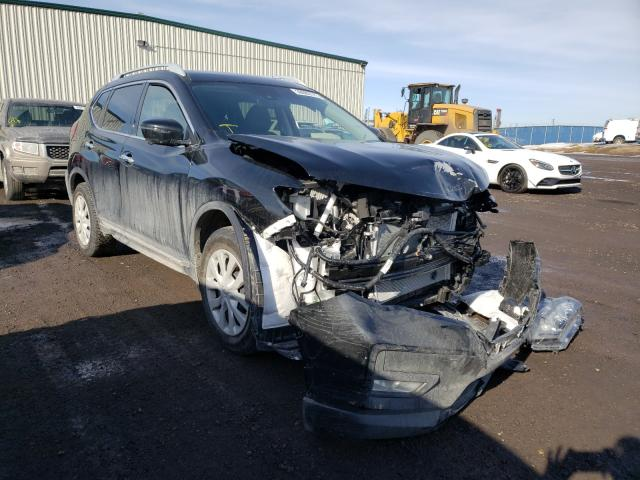 Salvage cars for sale from Copart Rocky View County, AB: 2020 Nissan Rogue S