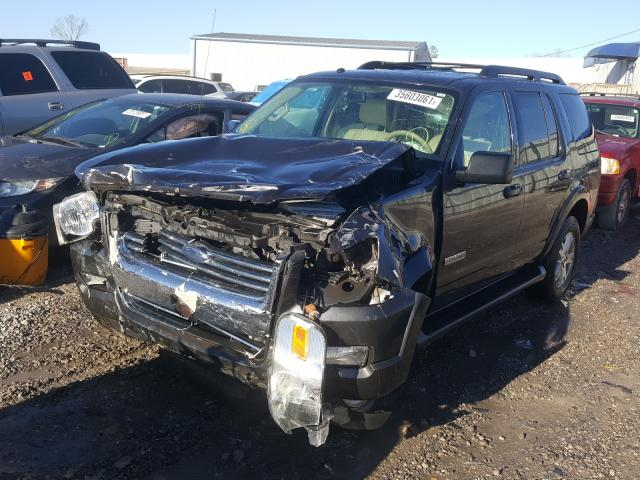 2007 FORD EXPLORER X - Left Front View