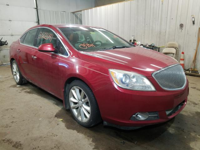 Salvage cars for sale from Copart Lyman, ME: 2012 Buick Verano