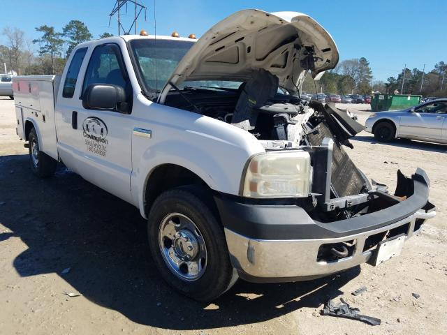 Salvage cars for sale from Copart Greenwell Springs, LA: 2006 Ford F250 Super
