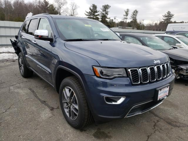 Salvage cars for sale from Copart Exeter, RI: 2021 Jeep Grand Cherokee