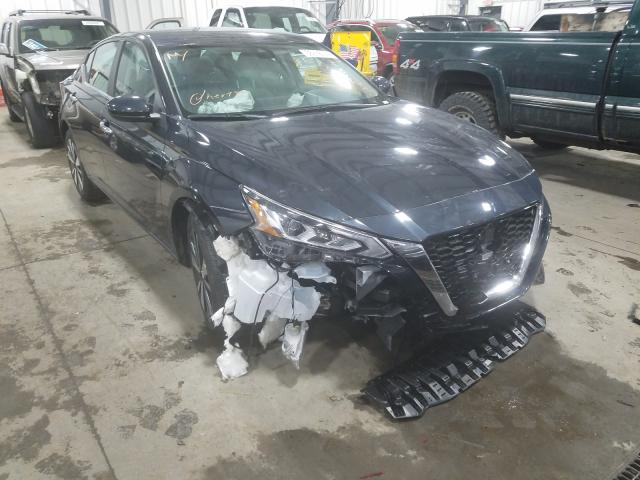 Nissan salvage cars for sale: 2021 Nissan Altima SV