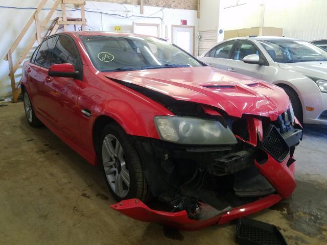 Vehiculos salvage en venta de Copart Ham Lake, MN: 2008 Pontiac G8