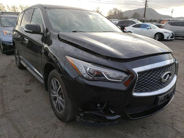Salvage cars for sale from Copart Colton, CA: 2019 Infiniti QX60 Luxe
