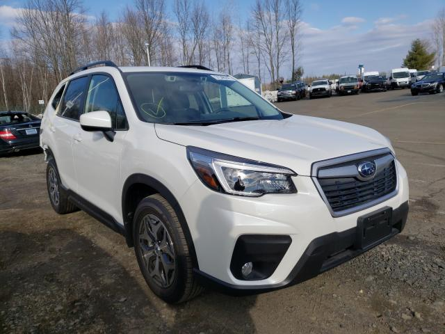 Salvage cars for sale from Copart East Granby, CT: 2021 Subaru Forester P