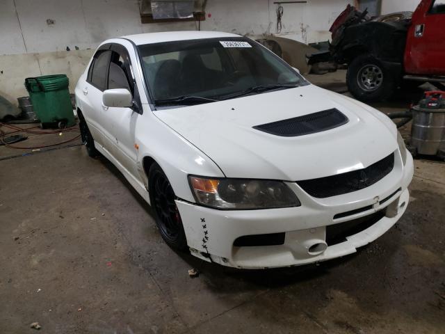Mitsubishi salvage cars for sale: 2006 Mitsubishi Lancer EVO