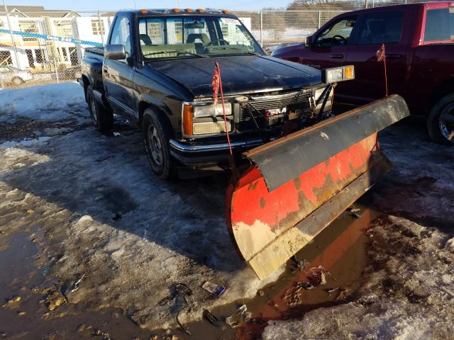 GMC Sierra salvage cars for sale: 1992 GMC Sierra