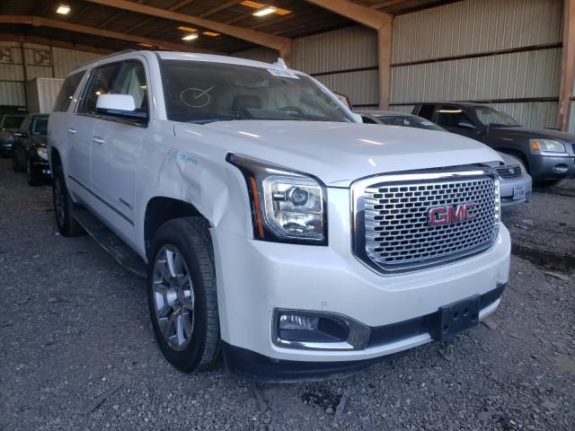 Salvage cars for sale from Copart Houston, TX: 2017 GMC Yukon XL D