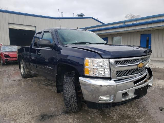 Salvage cars for sale from Copart Albany, NY: 2012 Chevrolet Silverado