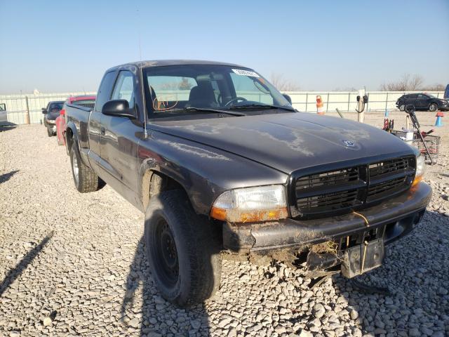 Vehiculos salvage en venta de Copart Kansas City, KS: 2002 Dodge Dakota Base
