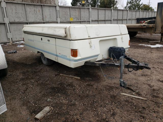 Coleman salvage cars for sale: 1990 Coleman Trailer