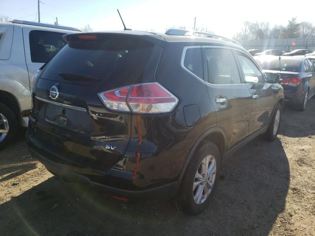 2015 NISSAN ROGUE S - Right Rear View