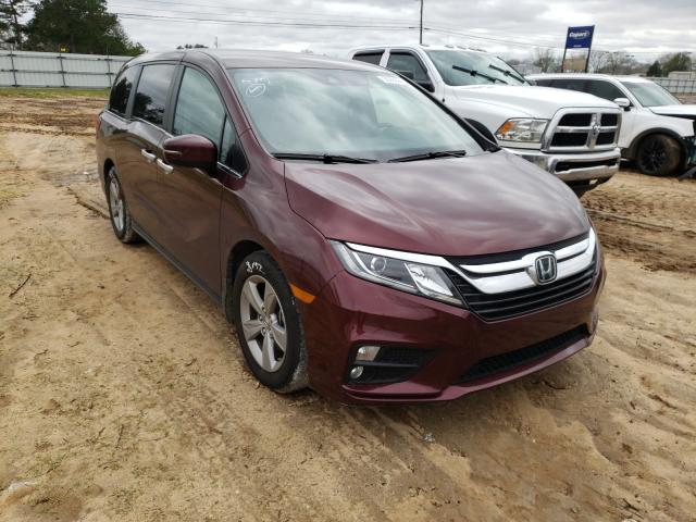 Salvage cars for sale from Copart Newton, AL: 2019 Honda Odyssey EX