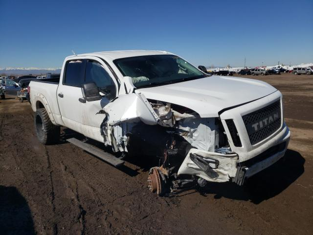 Nissan salvage cars for sale: 2017 Nissan Titan XD S