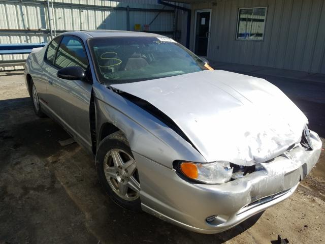 Chevrolet Montecarlo salvage cars for sale: 2005 Chevrolet Montecarlo