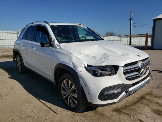 Salvage cars for sale from Copart Lexington, KY: 2020 Mercedes-Benz GLE 350 4M