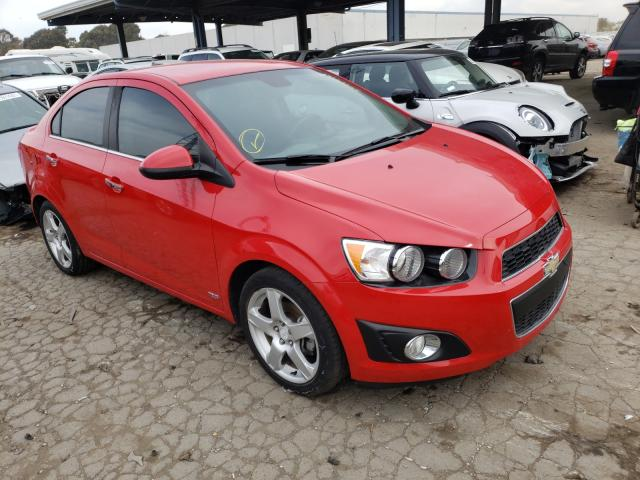 Salvage cars for sale from Copart Hayward, CA: 2013 Chevrolet Sonic LTZ