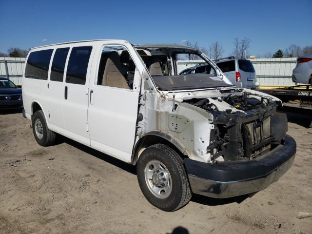 Salvage cars for sale from Copart Chatham, VA: 2016 Chevrolet Express G2