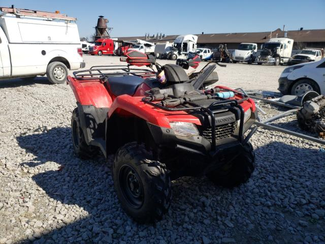 Salvage cars for sale from Copart Louisville, KY: 2017 Honda TRX420 FA