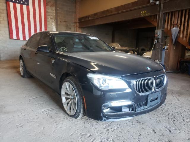 Salvage cars for sale at Hillsborough, NJ auction: 2013 BMW 750LI