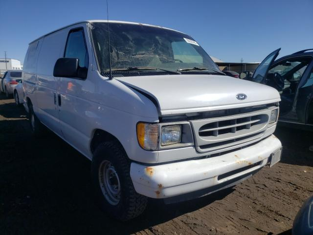 Ford Econoline salvage cars for sale: 2001 Ford Econoline