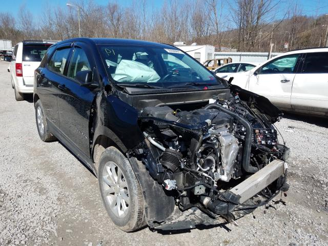 Salvage cars for sale from Copart Hurricane, WV: 2019 Chevrolet Equinox LS