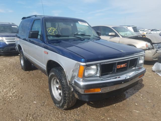 GMC salvage cars for sale: 1990 GMC S15 Jimmy