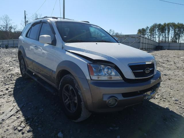 KIA Sorento salvage cars for sale: 2005 KIA Sorento