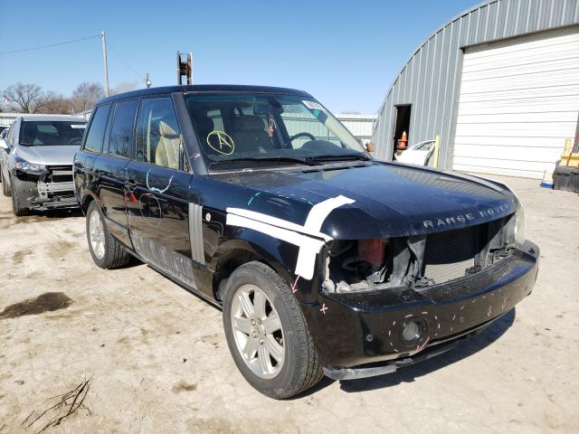 Salvage cars for sale from Copart Wichita, KS: 2006 Land Rover Range Rover