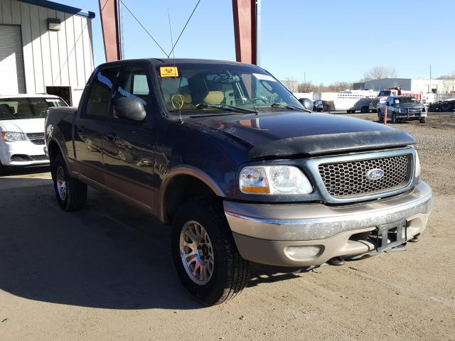 Salvage cars for sale from Copart Billings, MT: 2002 Ford F150 Super