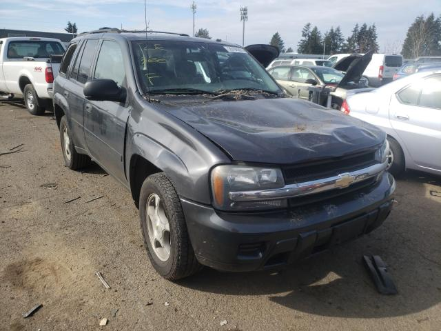 Salvage cars for sale from Copart Woodburn, OR: 2007 Chevrolet Trailblazer