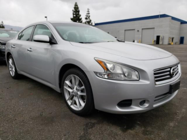 Salvage cars for sale from Copart Rancho Cucamonga, CA: 2012 Nissan Maxima S