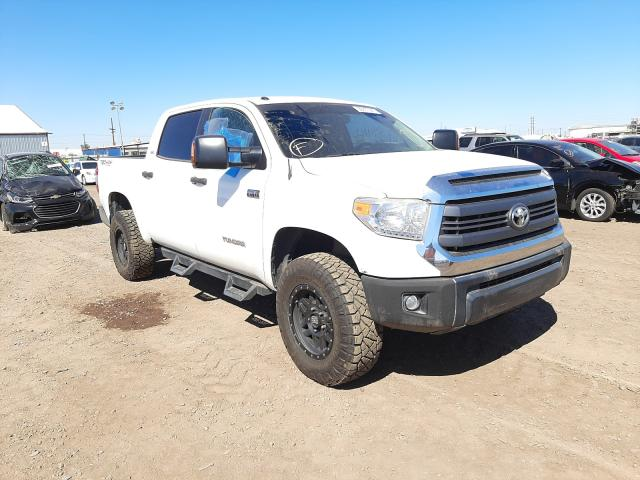 Salvage cars for sale from Copart Phoenix, AZ: 2015 Toyota Tundra CRE