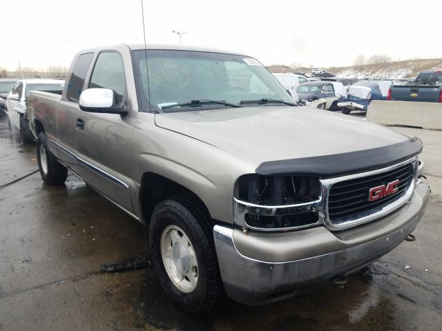 GMC New Sierra salvage cars for sale: 2002 GMC New Sierra