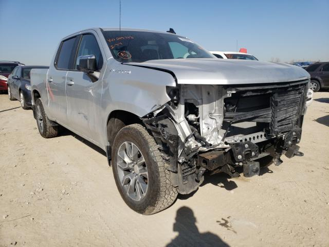 Salvage cars for sale from Copart Kansas City, KS: 2020 Chevrolet Silverado